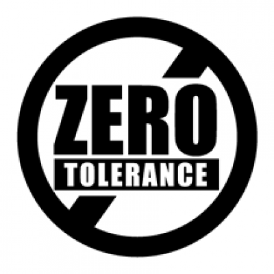 <p>ZERO Tolerance to aggression and violence in the practice</p>